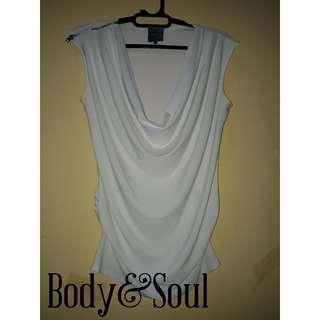 Body&soul kaos putih