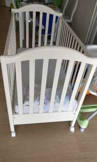 BB 床, baby cot with mattress