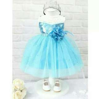 dress frozen baby flower