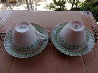 中國瓷器界牌杯碟