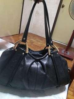 PIERRE CARDIN PARIS Genuine Leather Tote Bag