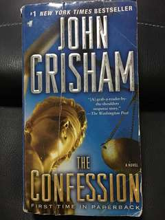 "John Grisham ""The Confession"""