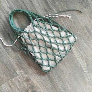 鉤織網網袋 / Handmade Crochet net bag