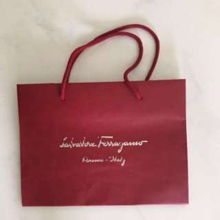 Salvatore Ferragamo Paper Bag (S)