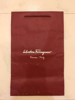 Salvatore Ferragamo Paper Bag (L)