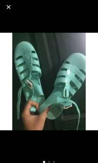 REPRICE original juju jelly shoes tosca