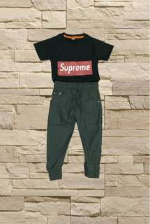 Supreme +jogger pants