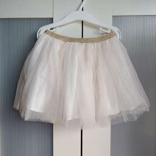CottonOn Kids 3-4y tutu glitter skirt