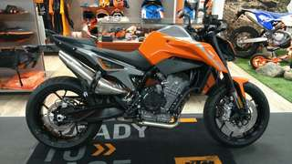 All-new KTM 790 DUKE