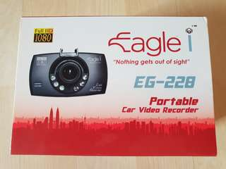 Eagle i EG-228 Car Video Recorder (with free 8GB SD card)