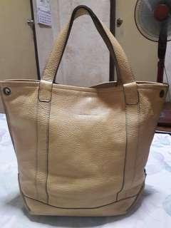RABEANCO Genuine Leather Tote Bag