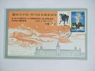 1985 Romania exhibition cover