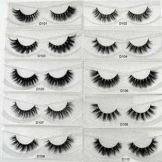 [INSTOCK] 3D Mink Eyelashes
