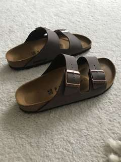 New Birkenstock Arizona sandals