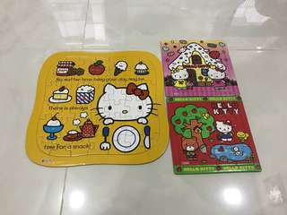 Selling Preloved Hello Kitty Puzzles