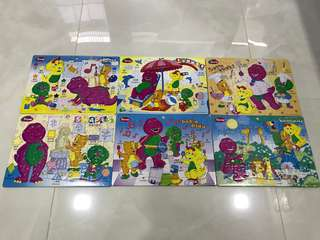 Selling Preloved Barney Puzzle (40 piece)