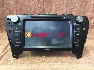 CAMRY 12-15 OEM BT DVD GPS Monitor