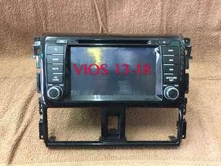 VIOS 13-18 OEM DVD BT GPS Monitor