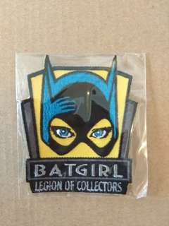 Dc comics Batgirl patch