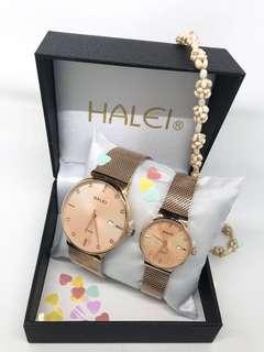 Authentic brand HALEI watch
