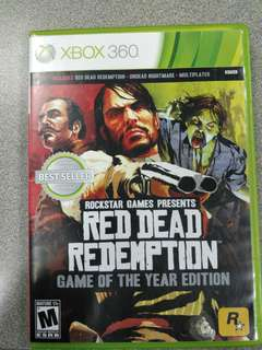 Xbox One Red Dead Redemption Game of the year edition