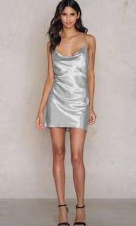 Bardot slip dress mercury size 8