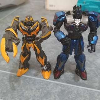 Bumblebee n prime its around 3 or 4cm brand new jt no box selling both in toy r us 1 for $15 i guess. I m selling both for $20 no lowballers no nego
