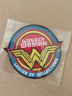 Dc comics Wonderwoman patch