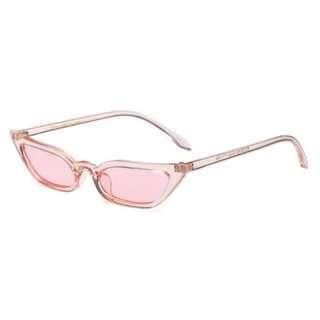 Brand New Small Cat Eye Sun Glasses Pink