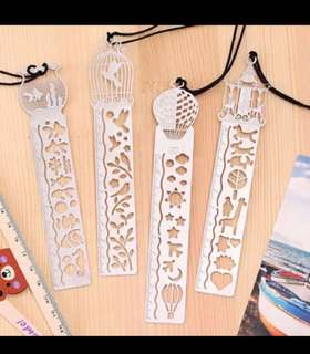 Metal Bookmark cum Ruler