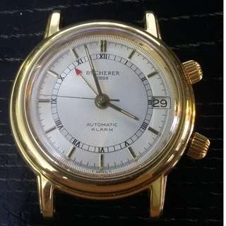 Bucherer 1888 alarm watch {limited Edition}