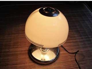 🚚 日本昭和古董老檯燈 桌燈 one touch no-169