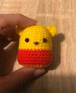 Hand made crochet Pooh Bear arigurumi