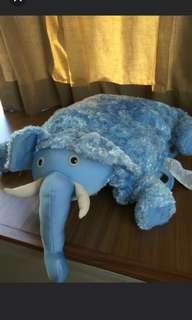 Elephant Pillow Pet Blanket