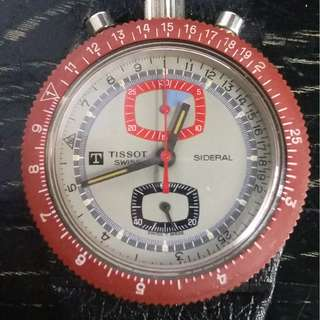 Tissot sideral chronograph {NOS}