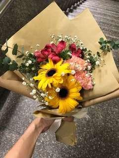 Sunshine - Fresh Flower Bouquet
