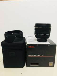 Sigma 50mm f1.4 for nikon
