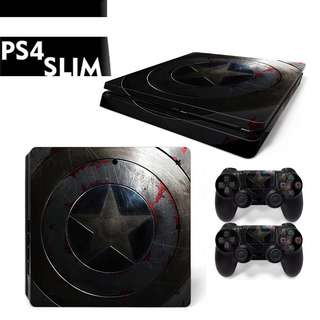 Captain America ps4 slim skin