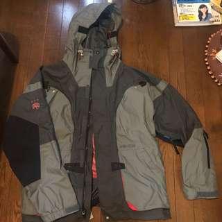 🚚 Analog snowboard Jacket Mサイズ  ナイロン素材 裏地メッシュ9K