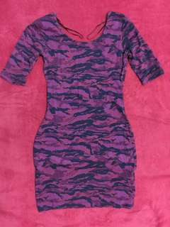 Forever21 Camouflage Sexy Dress