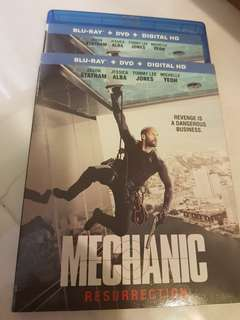 MECHANIC RESURRECTION  BLU RAY