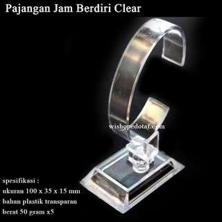 Pajangan Jam Berdiri / display stand Watch