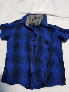 Blue Polo for Toddlers