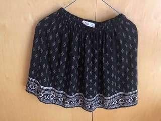 Hollister patterned skirt dress HCO A&F 半身短裙