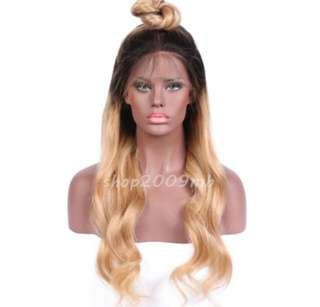Lace front wig.