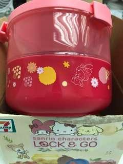 7-11 lock & Go Sanrio character 收納盒