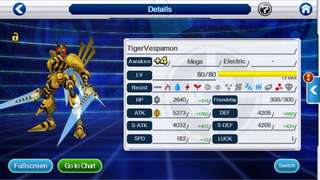 Selling account digimon links