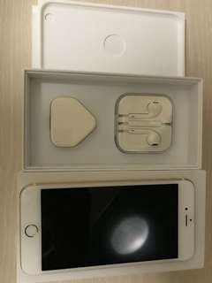 IPhone 6plus 64G Gold 超新有盒有單
