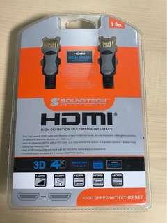Soundtech Electronic 3m HDMI cable