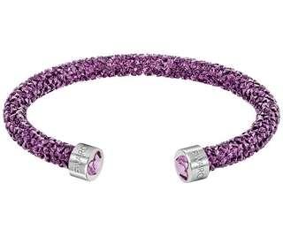 Swarovski Stardust Bracelet Purple Color
